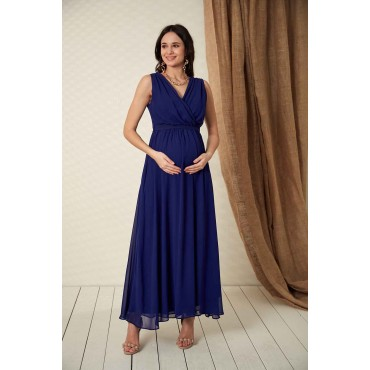 Baby Shower Maternity Chiffon Evening Dress