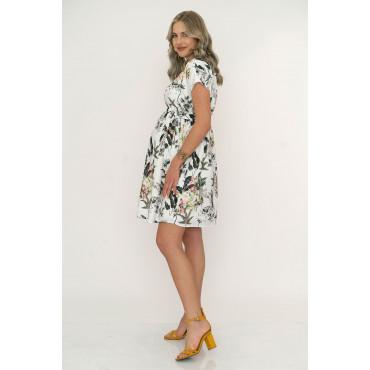 Hot Summer Maternity Crepe Dress