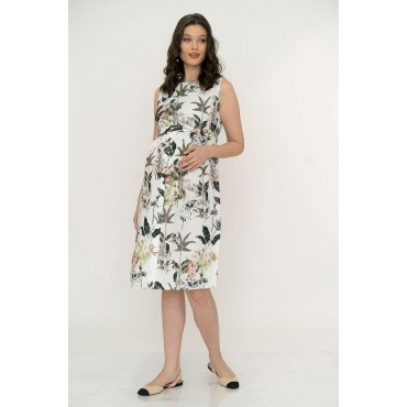 Double Breasted Back Buttoned Skirt Pregnant Dress