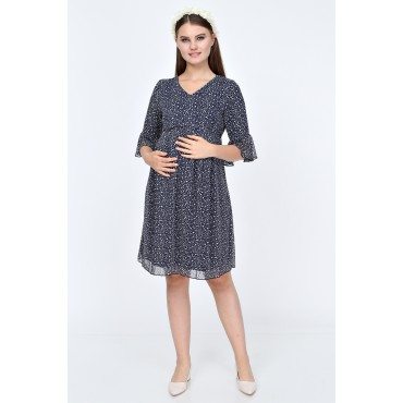 Truvakar Arm Drop Mini Maternity Dress