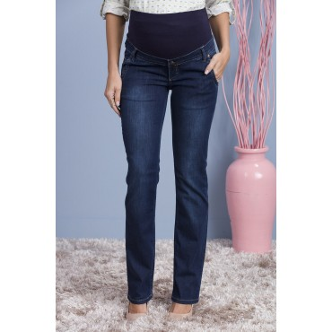 Pipe Tail Pregnant Jeans Pants