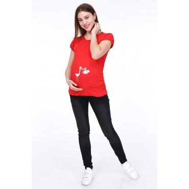Short Sleeve Pregnant T-Shirt
