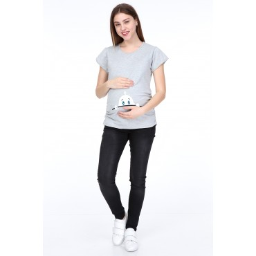 Minister Baby Short Sleeve Pregnant T-Shirt