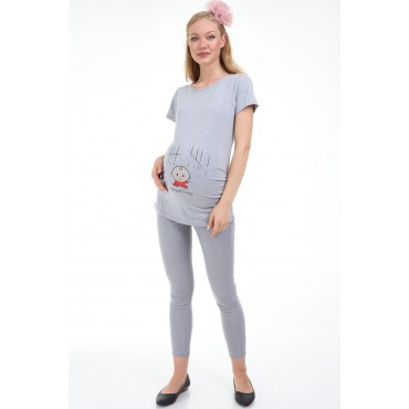Almost Free Maternity Short Sleeve T-Shirt