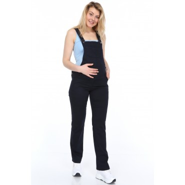 Cotton Lycra Maternity Gardener Pants Overalls