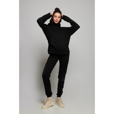 Lexie Two Thread Knit Maternity Hooded Tracksuit Set