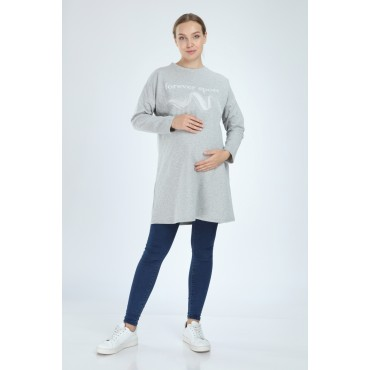 Endless Sport Maternity SweatShirt-Tunic