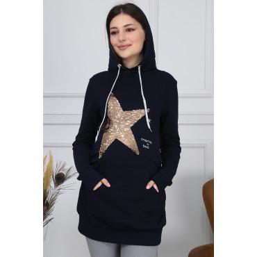 Illuminated Star Maternity Wear Sweatshirt
