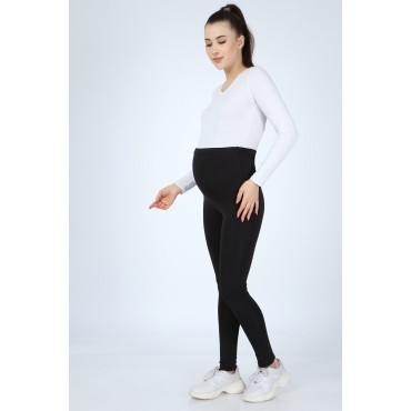 Maternity Clothing Shiny Woolen Diving Tights