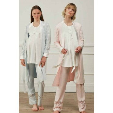 Maternity Set of 3 Pajamas Set