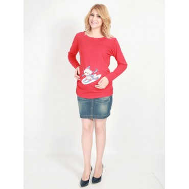 Floating Baby Maternity Wear Long Sleeve
