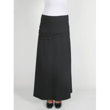 Maternity Clothes four-button skirt
