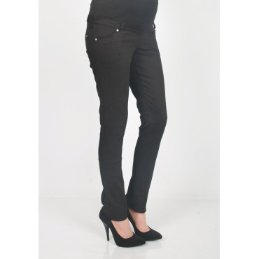Pregnant Narrow Canvas Leg Pants