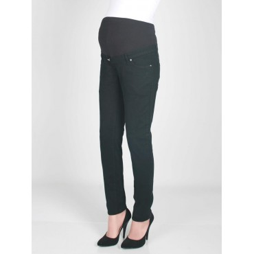 Pregnant Narrow Leg Linen Trousers