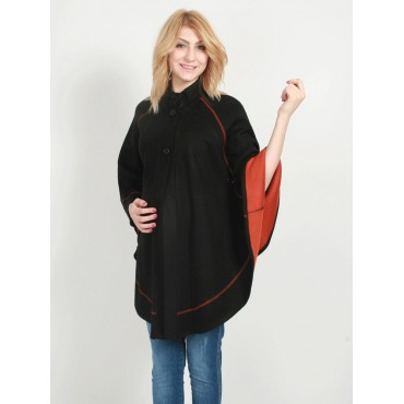 Maternity Clothes Sewn Knit Poncho