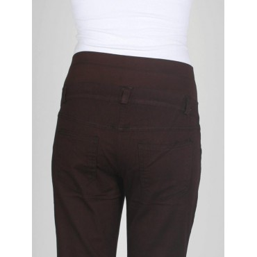 Pregnant Cotton Half bell-bottomed trousers