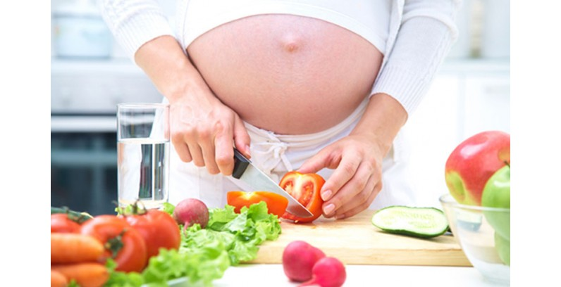 RECOMMENDED DAILY AMOUNT OF FOOD IN PREGNANCY